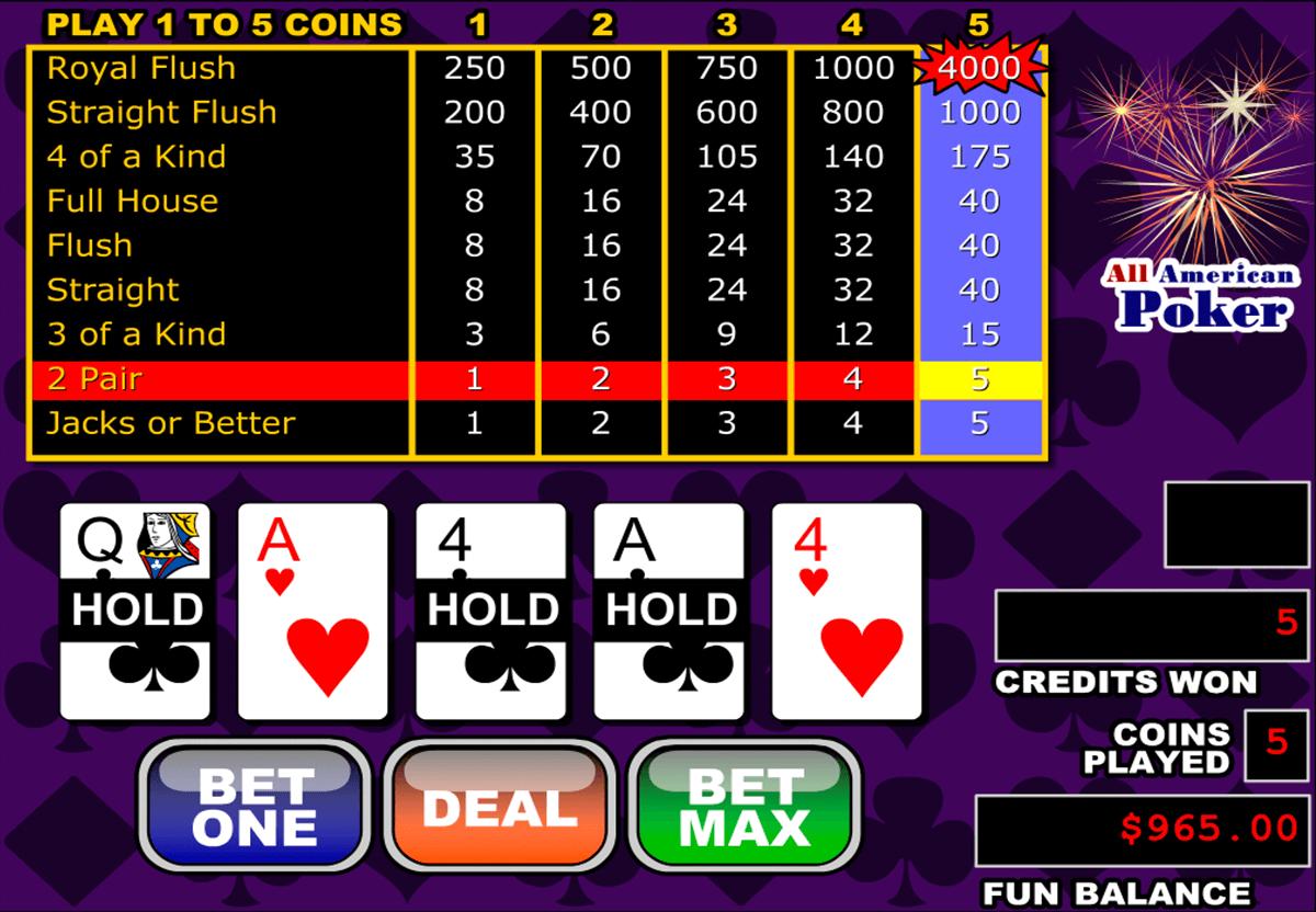 American Poker Online Spielen