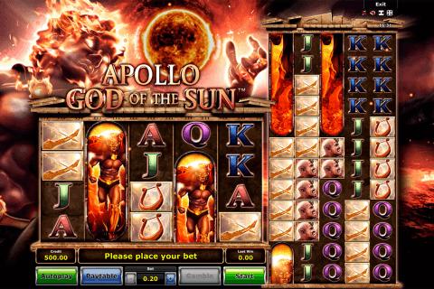 apollo god of the sun novomatic
