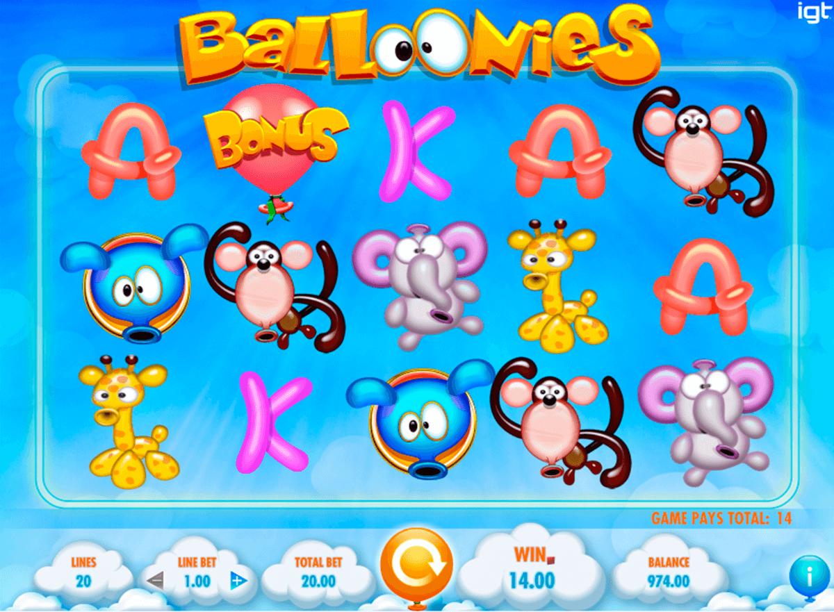 balloonies igt