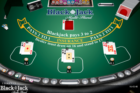 blackjack multihand isoftbet