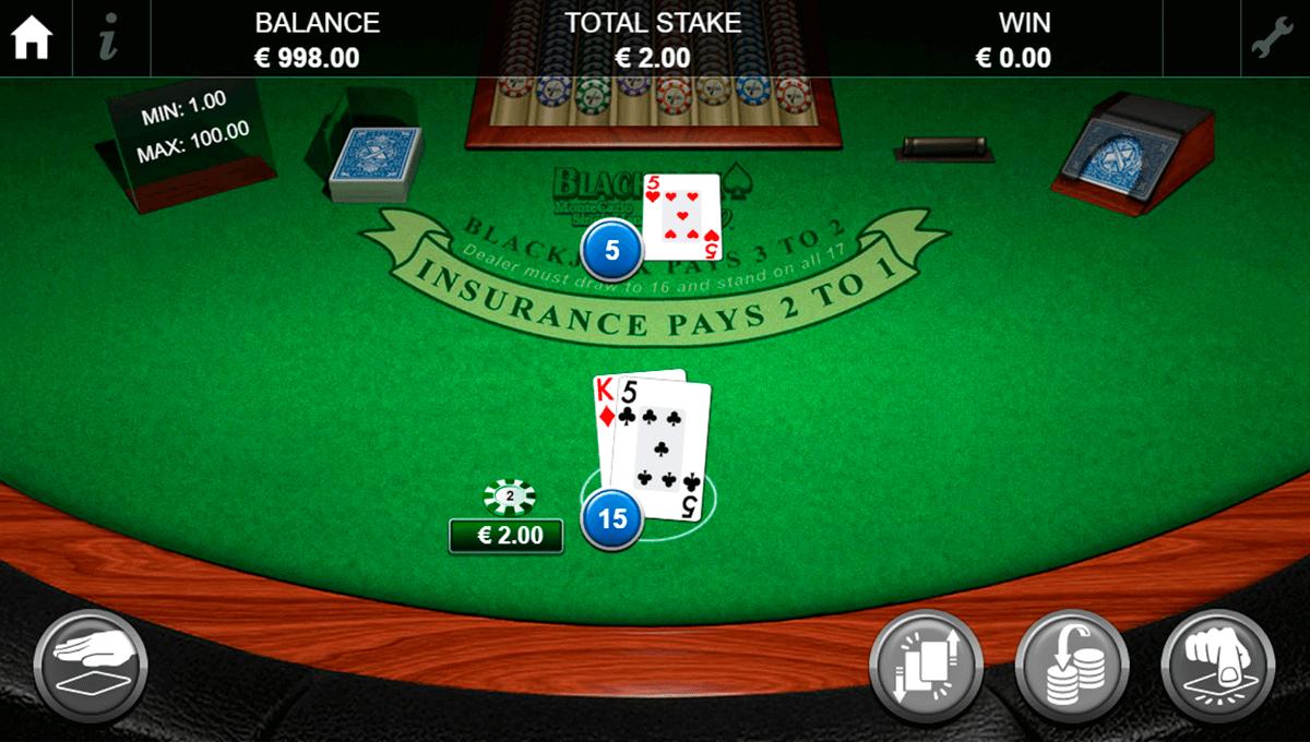 blackjack pro montecarlo singlehand nextgen gaming