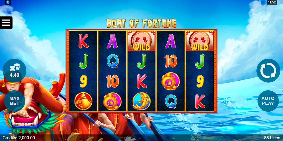 boat of fortune microgaming