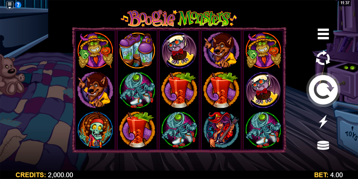 boogie monsters microgaming