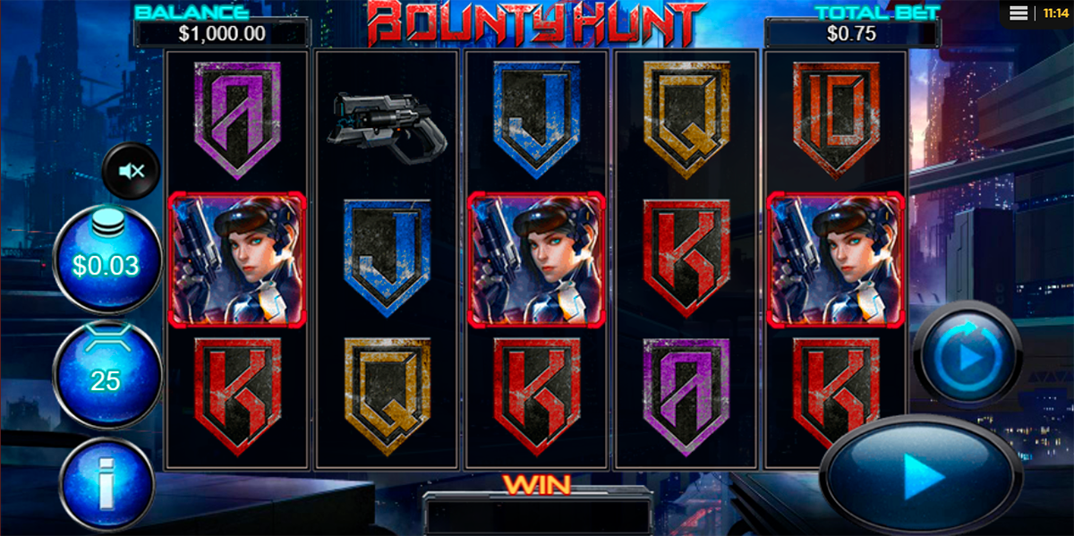 bounty hunt reel play