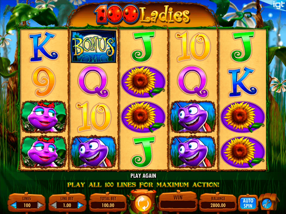 100 ladies igt spielautomaten