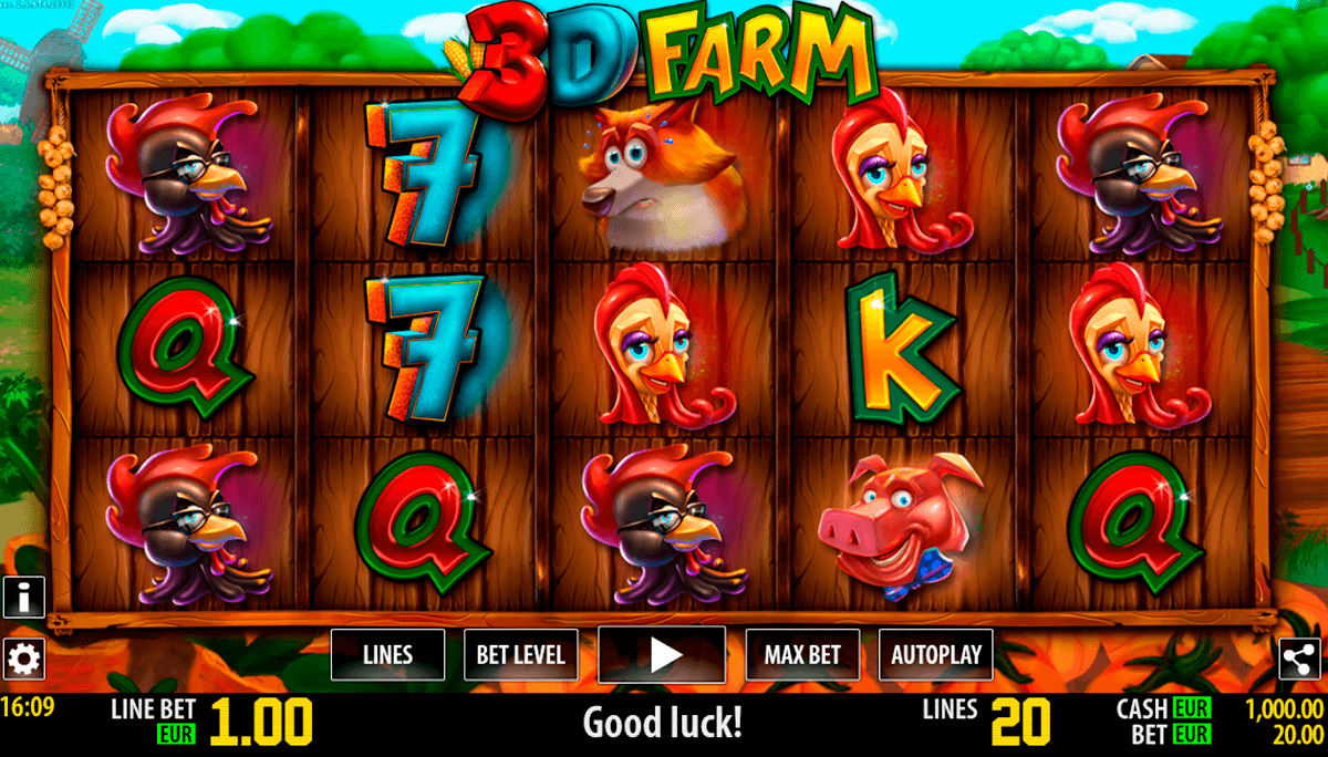 d farm hd world match spielautomaten