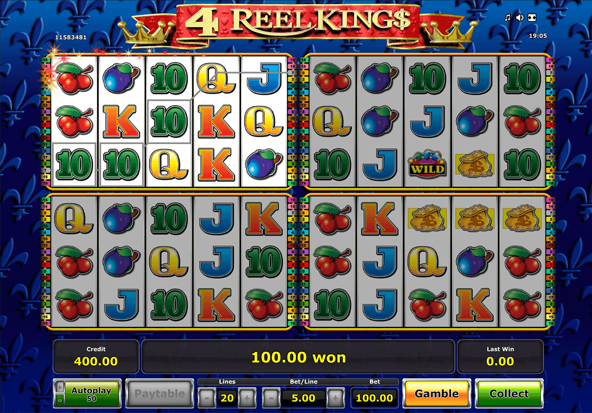 4 reel kings spielen