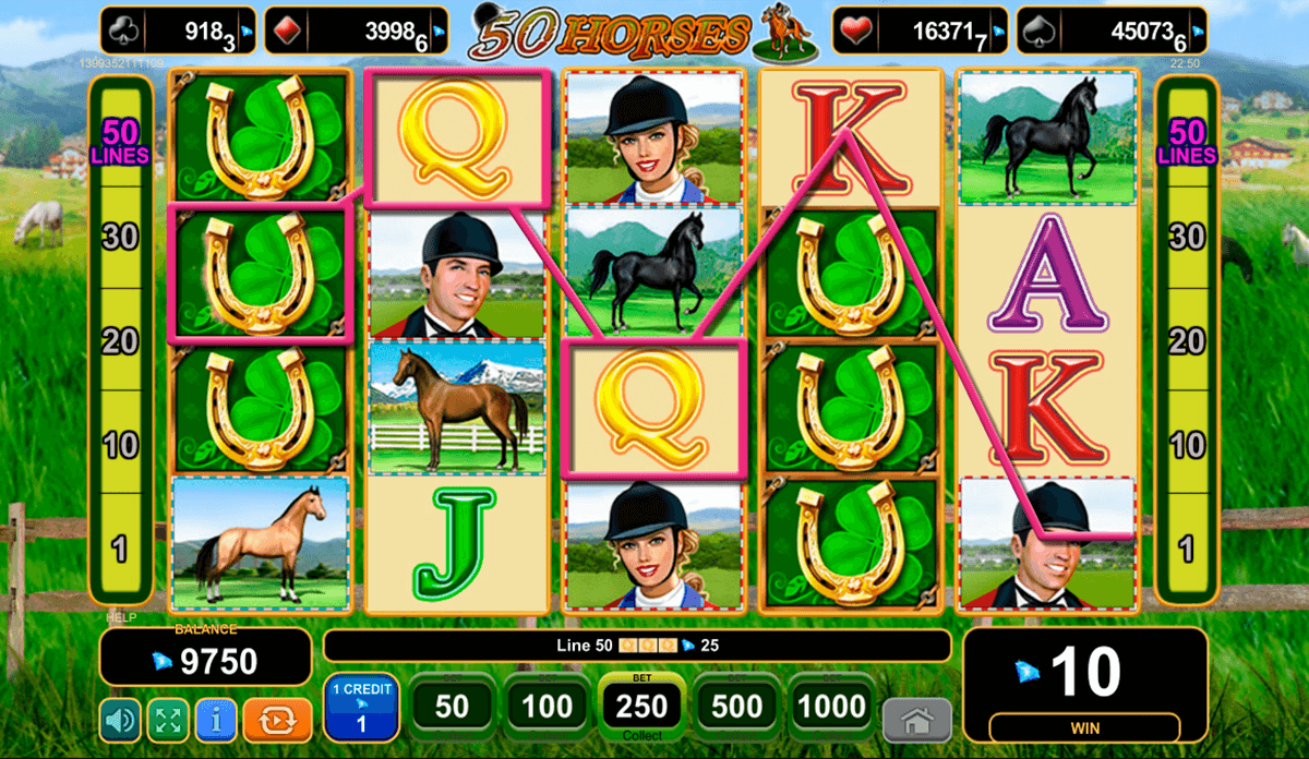 50 horses egtm