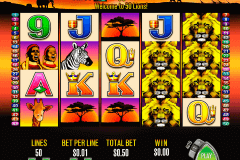 lions aristocrat spielautomaten