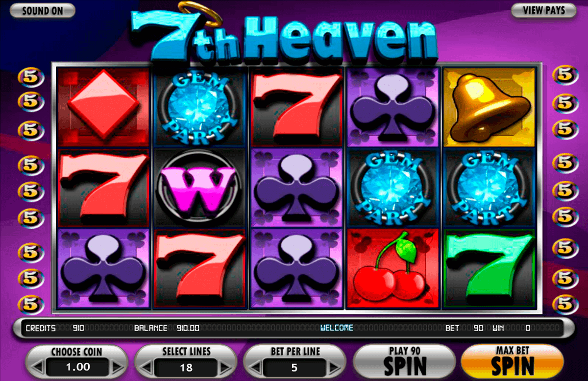 7th heaven betsoft spielautomaten