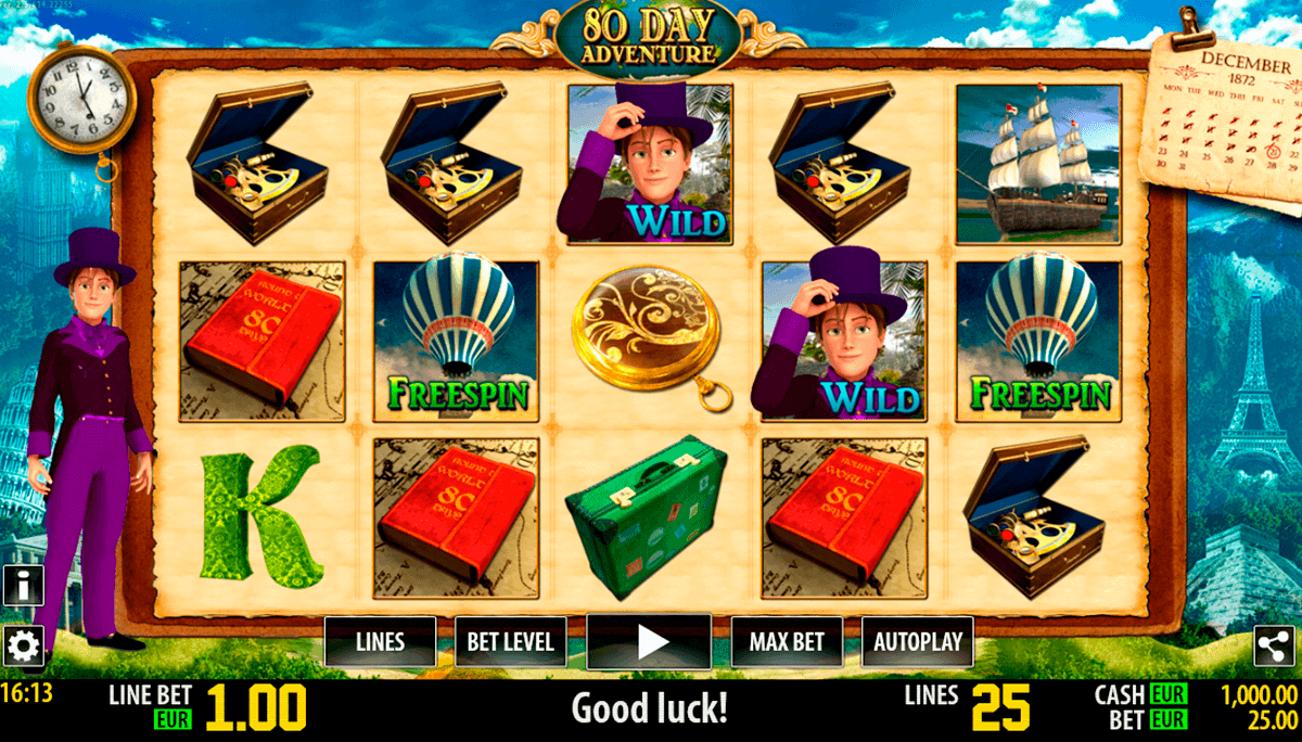 80 day adventure hd world match spielautomaten