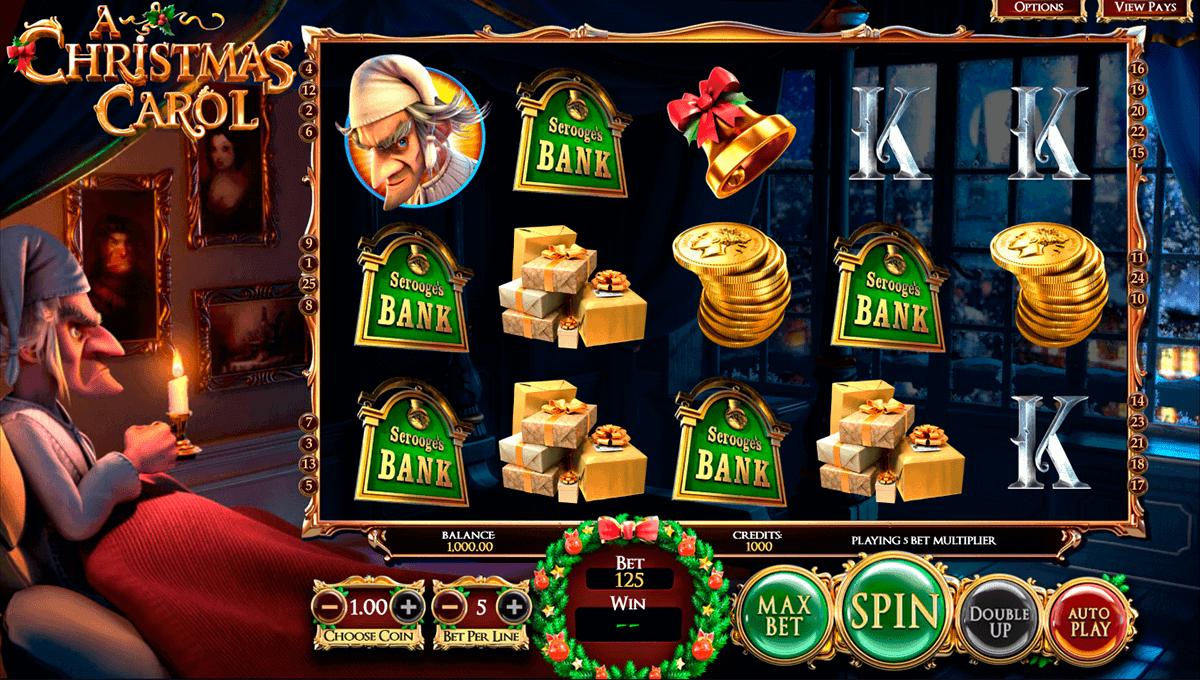 A Christmas Carol Spielautomat • Kostenlos Spielen Online von BetSoft