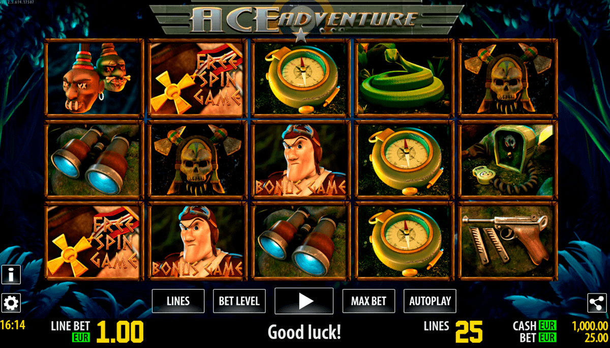 ace adventure hd world match spielautomaten