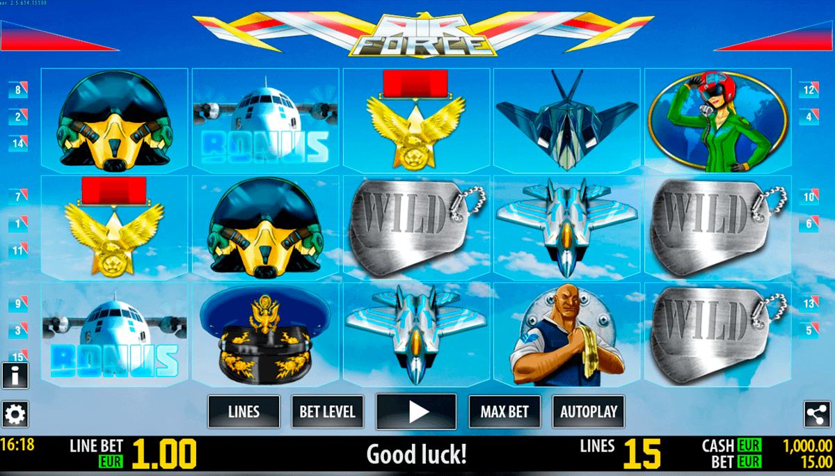 air force hd world match spielautomaten
