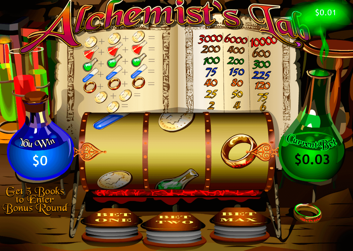 alchemists lab playtech spielautomaten