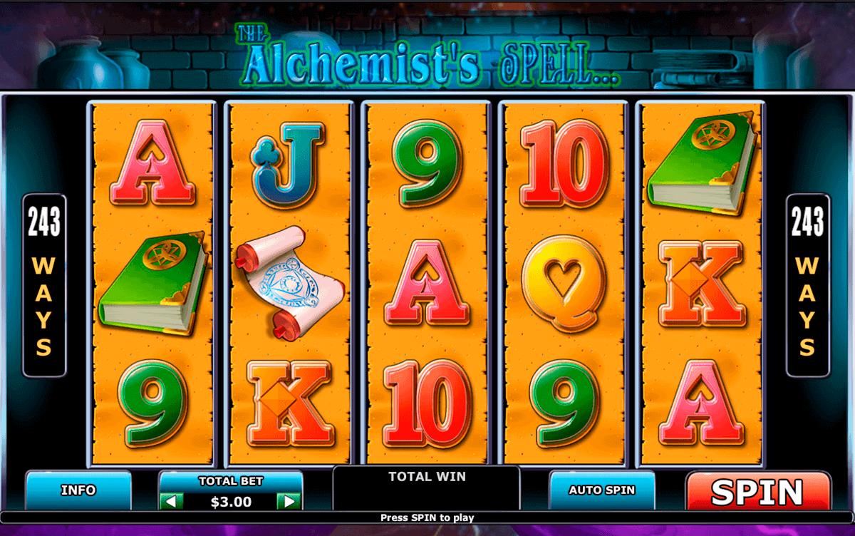 alchemists spell playtech spielautomaten