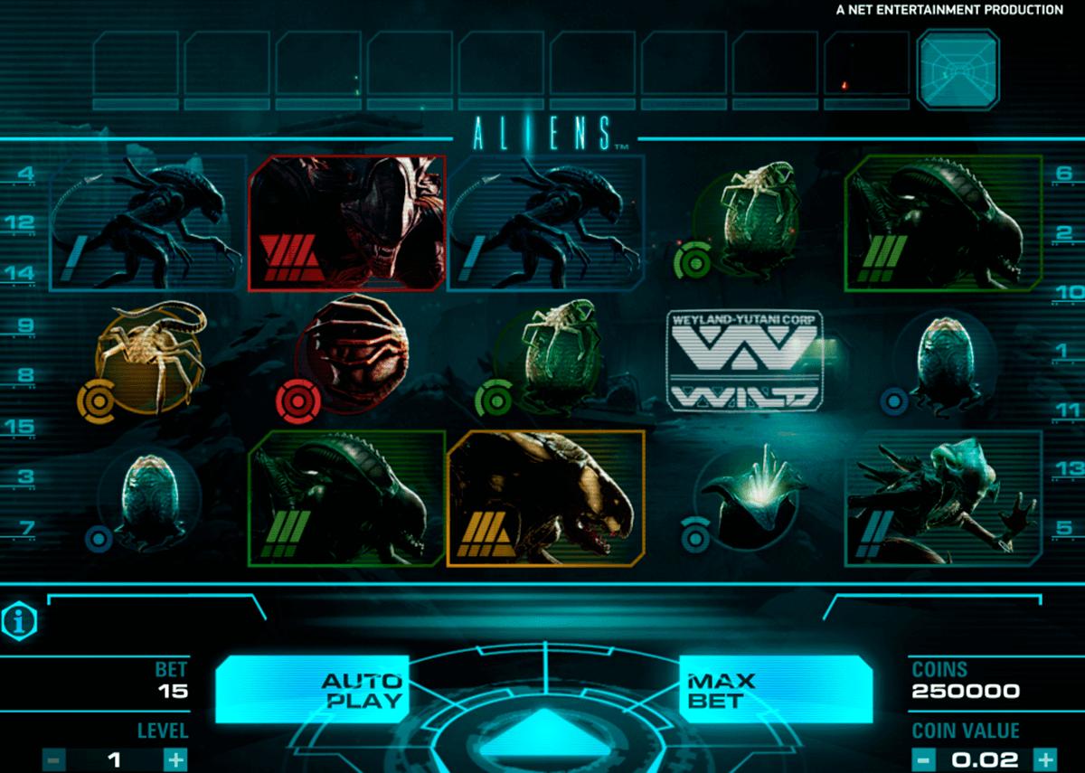aliens netent spielautomaten