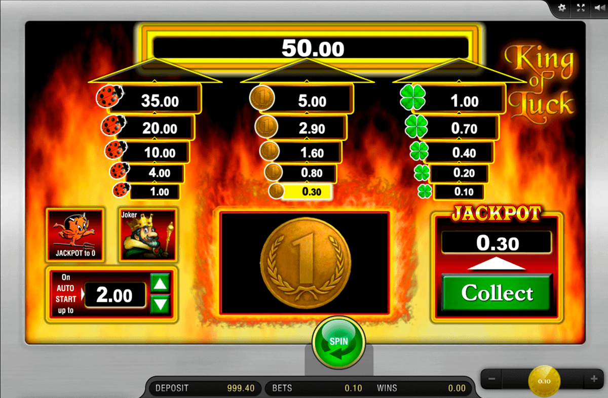 start online casino king of casino