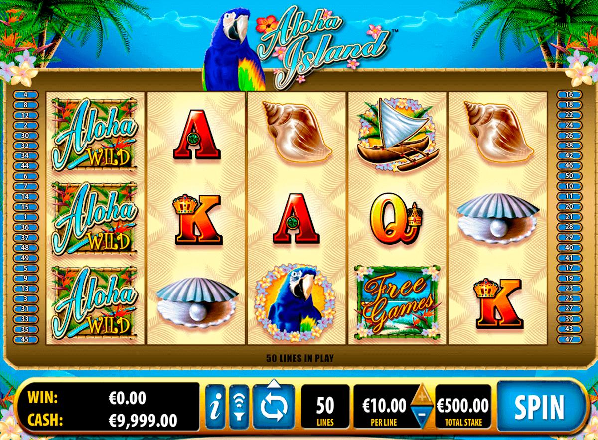 aloha island bally spielautomaten
