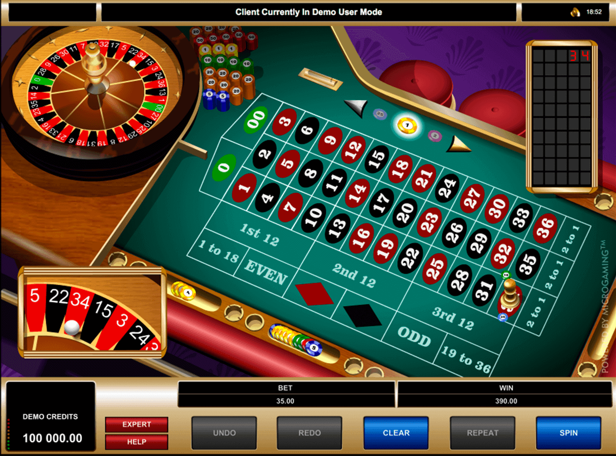 american roulette microgaming roulette
