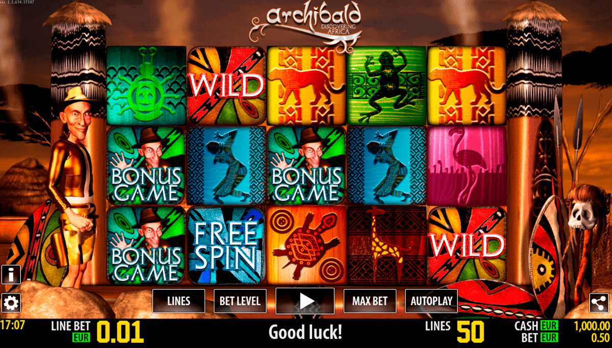 archibald africa hd world match spielautomaten