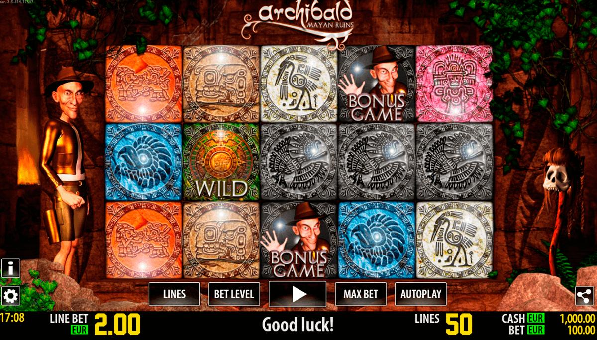 Spielen Sie Archibald Maya kostenlos im Demo Mode von Worldmatch