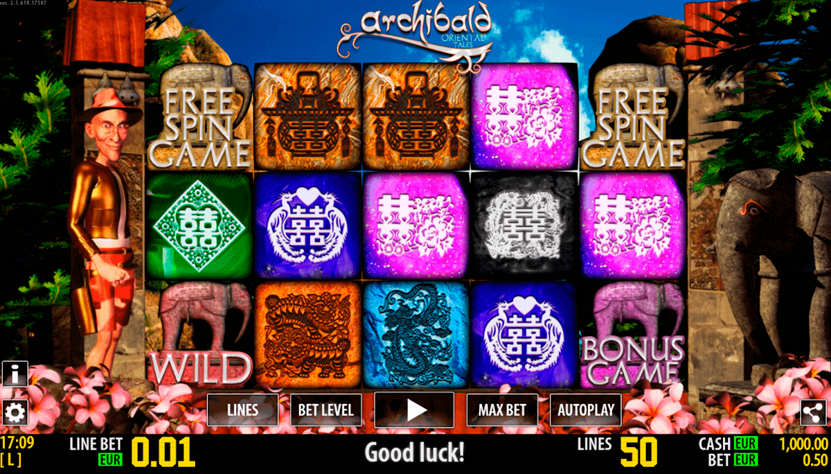 archibald orient hd world match spielautomaten