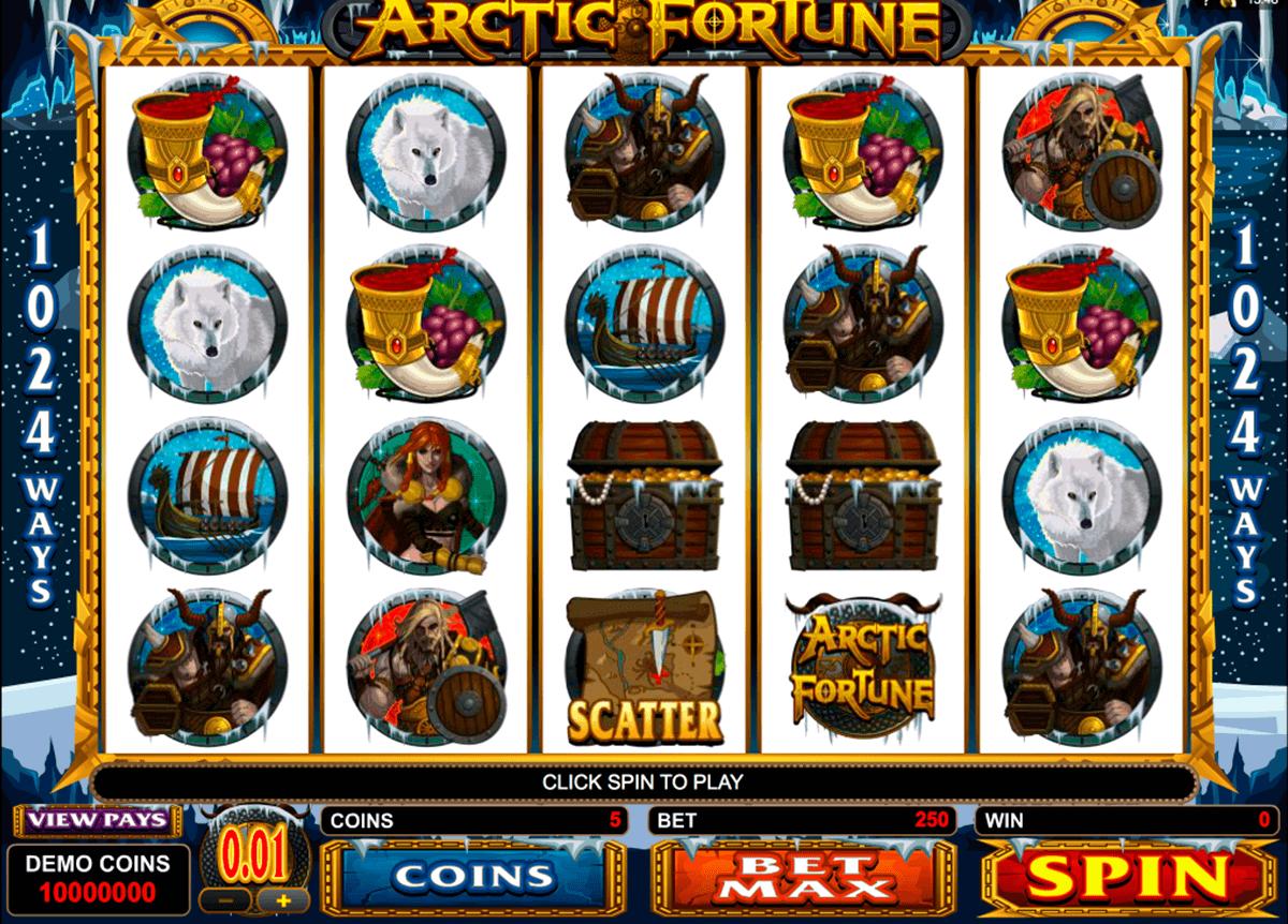 arctic fortune microgaming spielautomaten