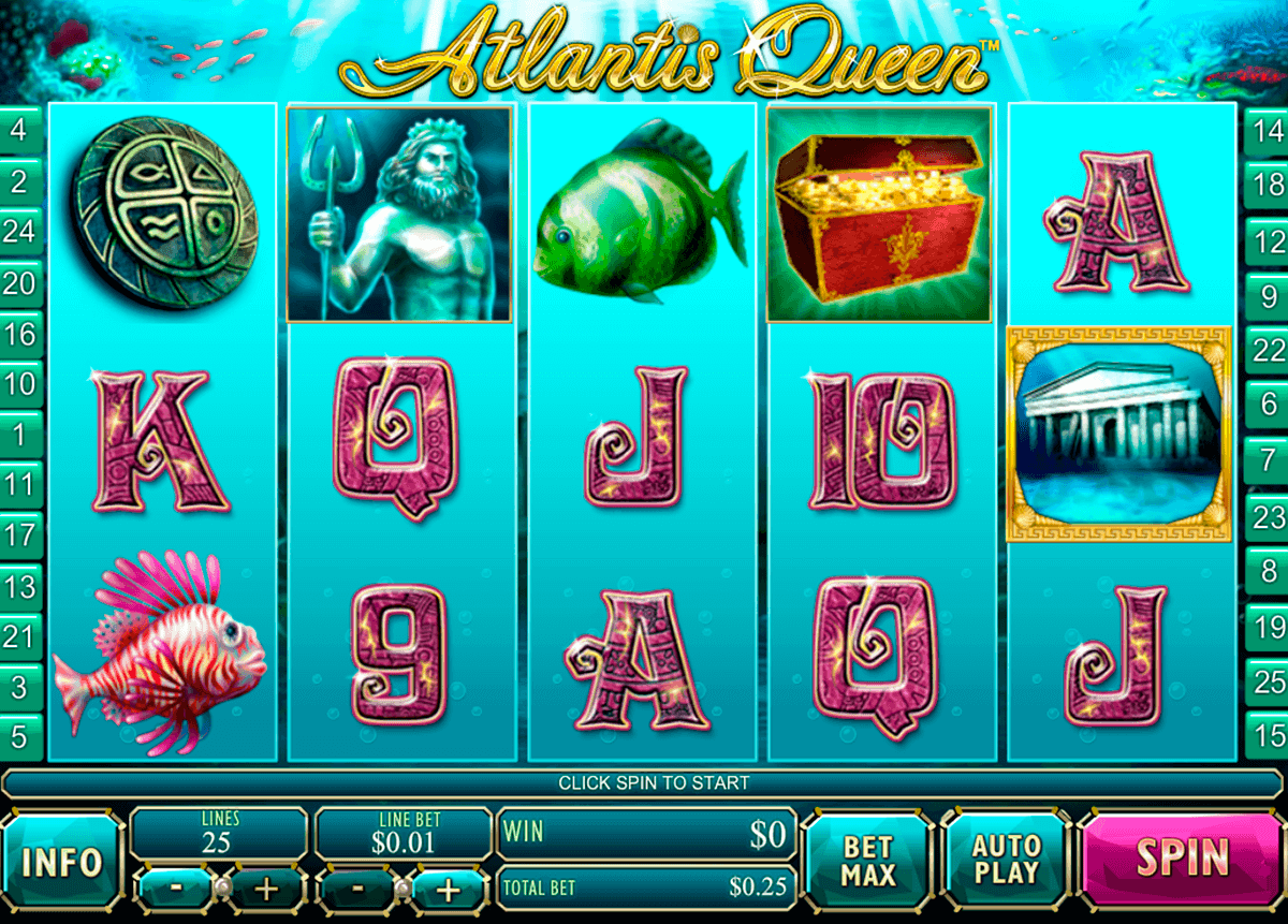 atlantis queen playtech spielautomaten