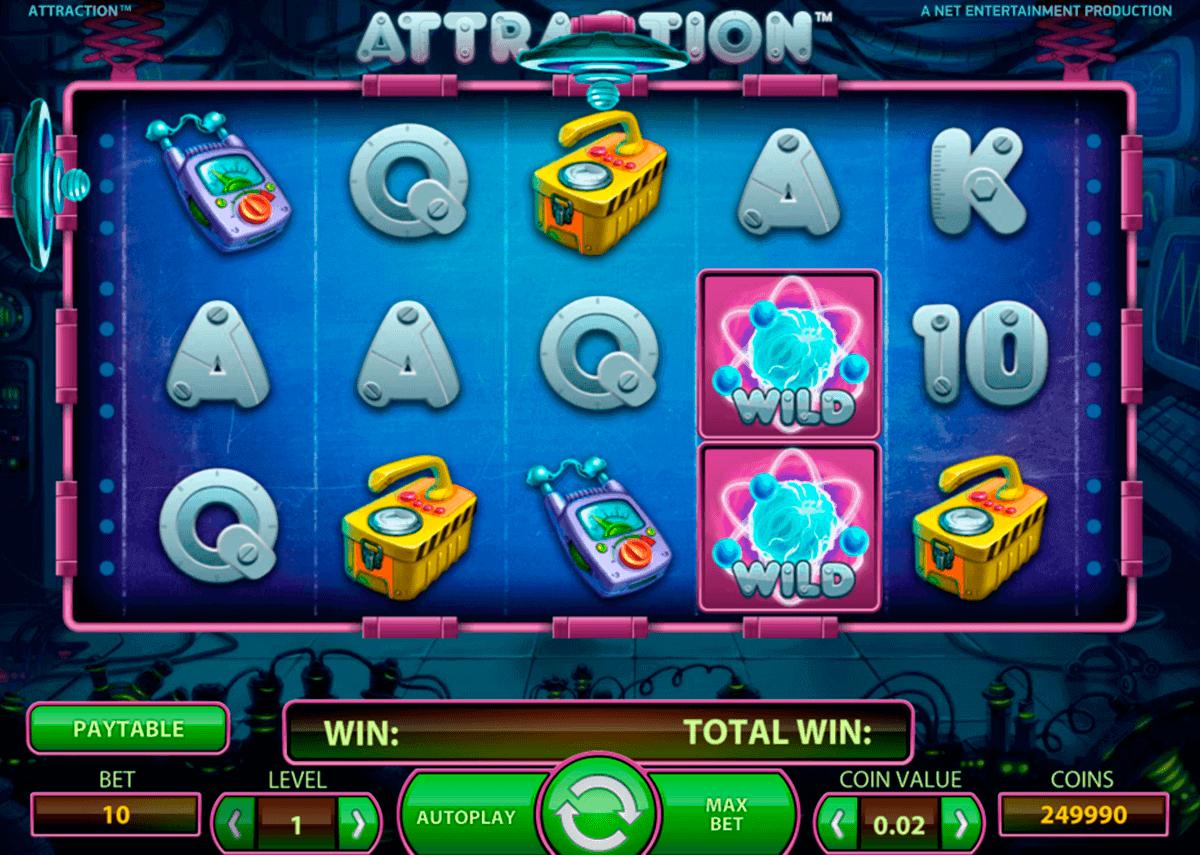 attraction netent spielautomaten
