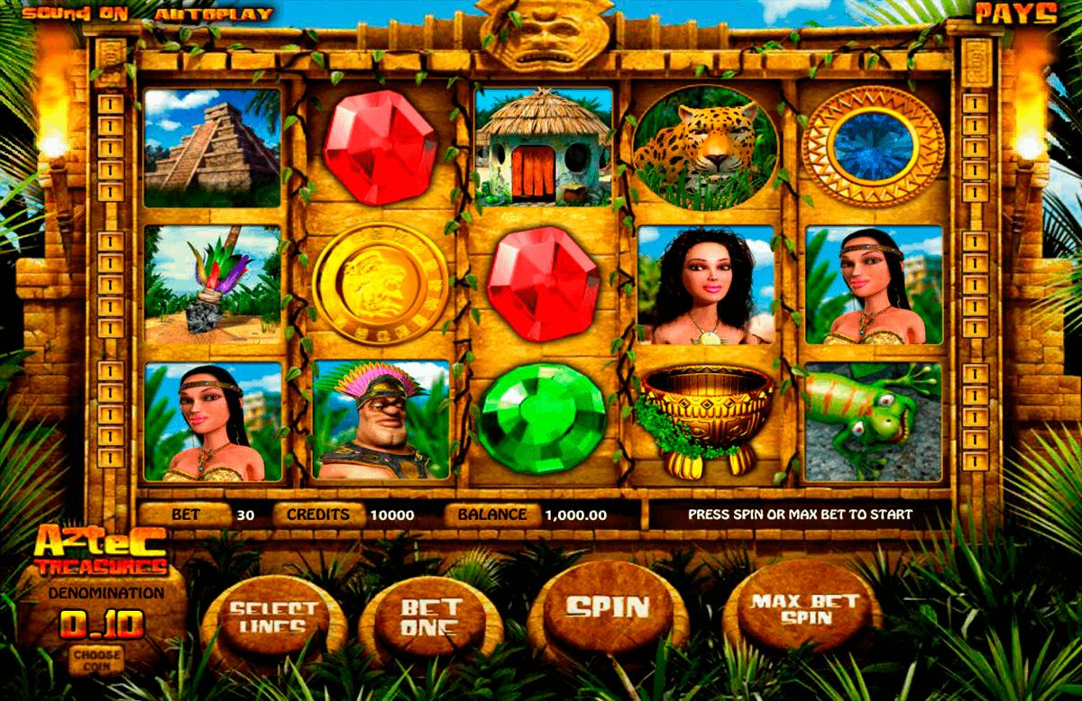 aztec treasures betsoft spielautomaten