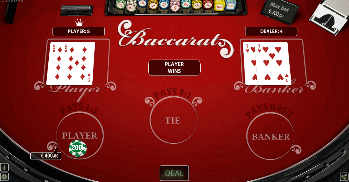baccarat privee hd world match