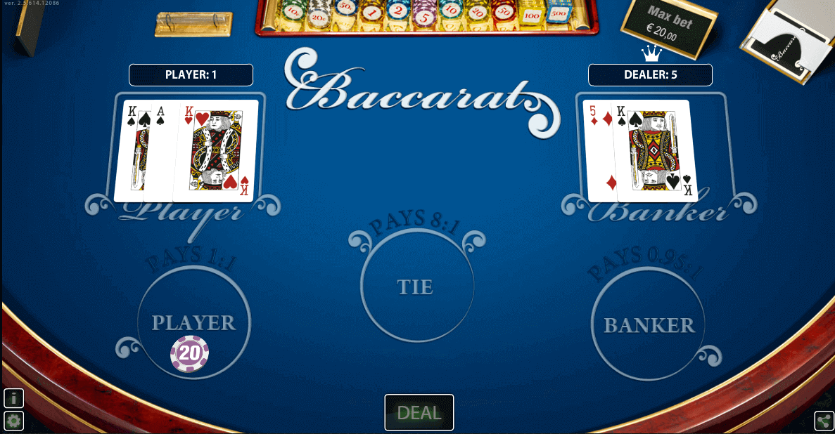 baccarat pro hd world match
