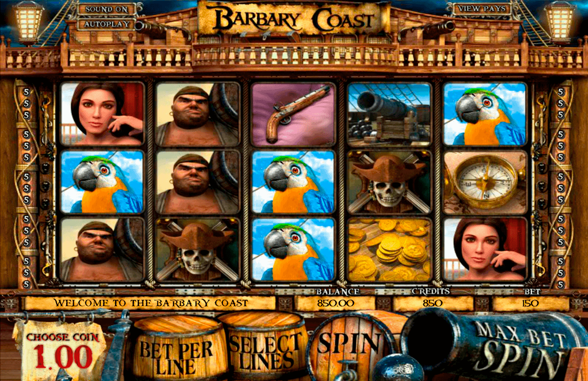 barbary coast betsoft spielautomaten
