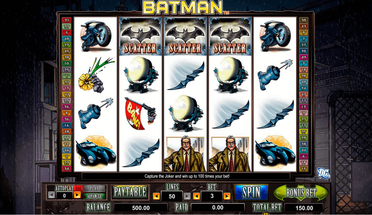batman amaya spielautomaten