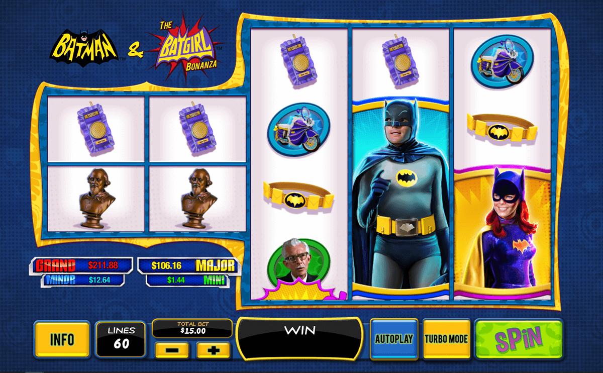 batman the batgirl bonanza playtech spielautomaten