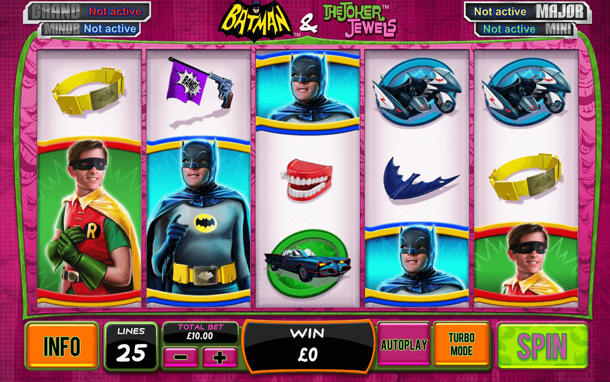 batman the joker jewels playtech spielautomaten