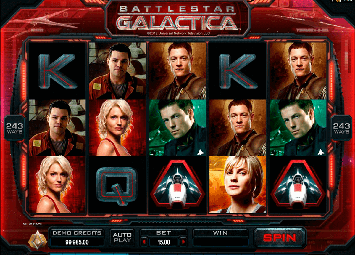 battlestar galactica microgaming spielautomaten