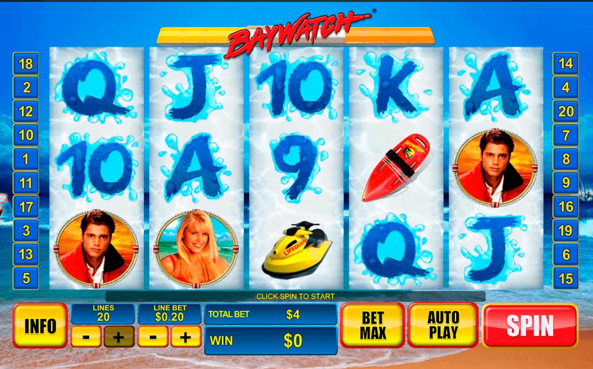 baywatch playtech spielautomaten