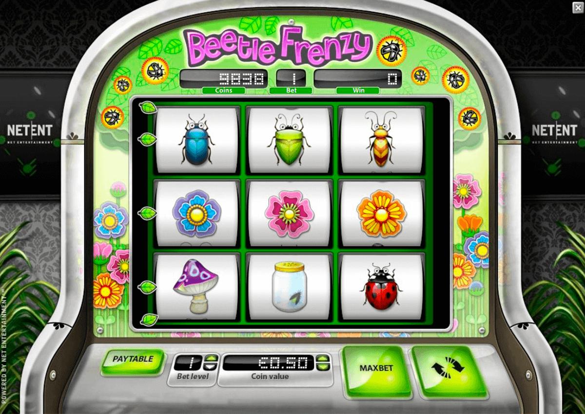 beetle frenzy netent spielautomaten