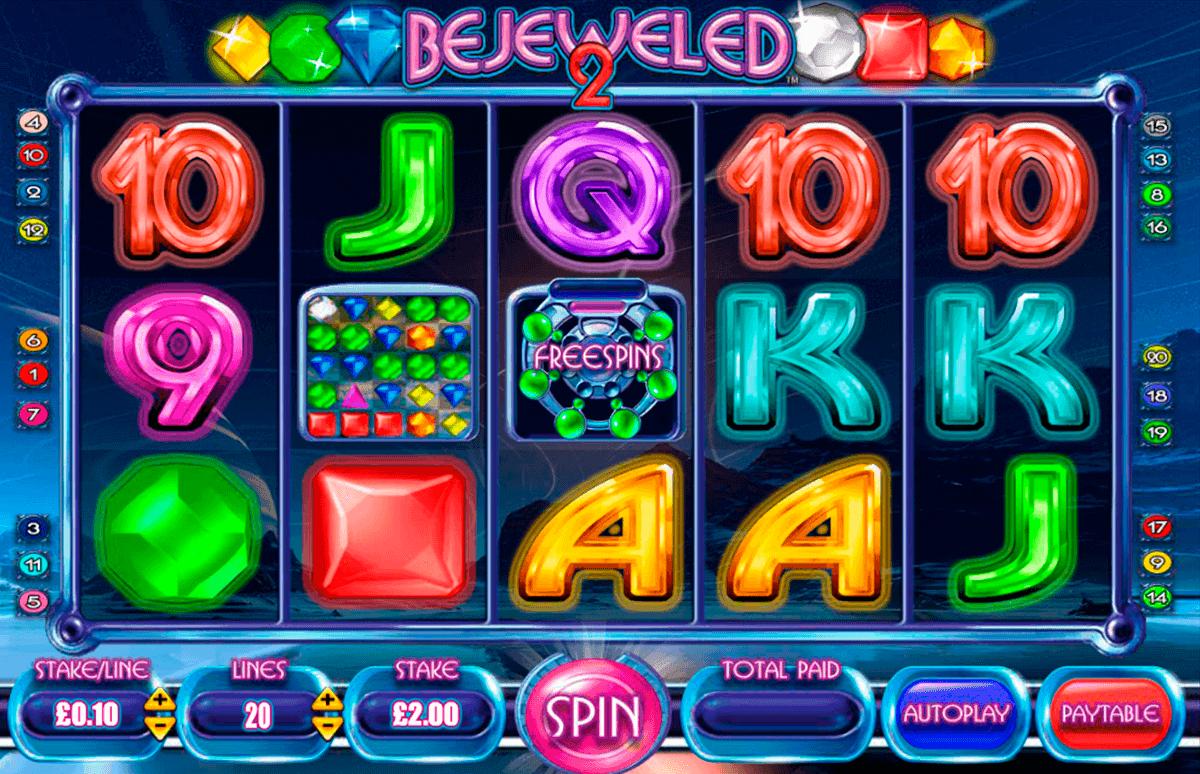 bejeweled  blueprint spielautomaten