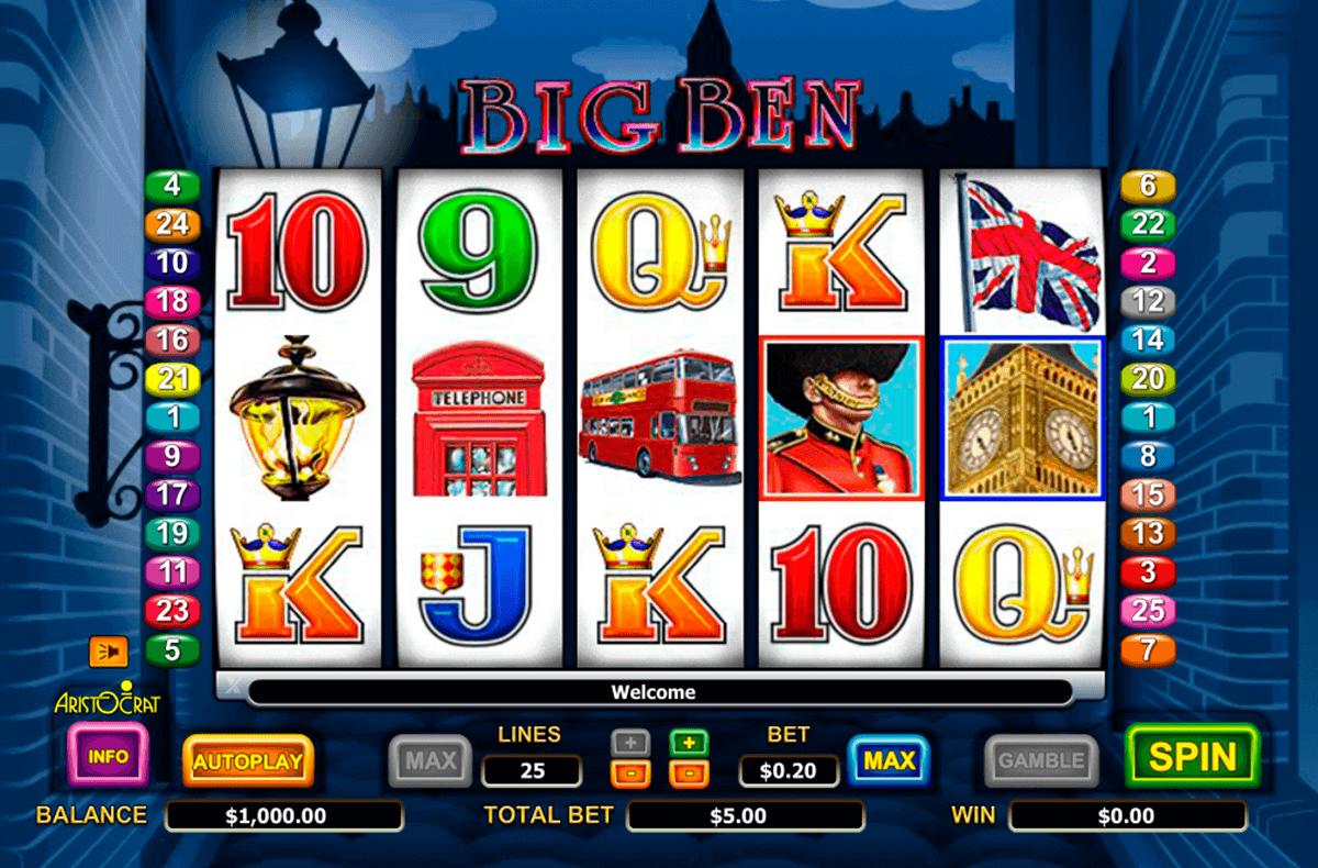 Big Ben Spielautomat
