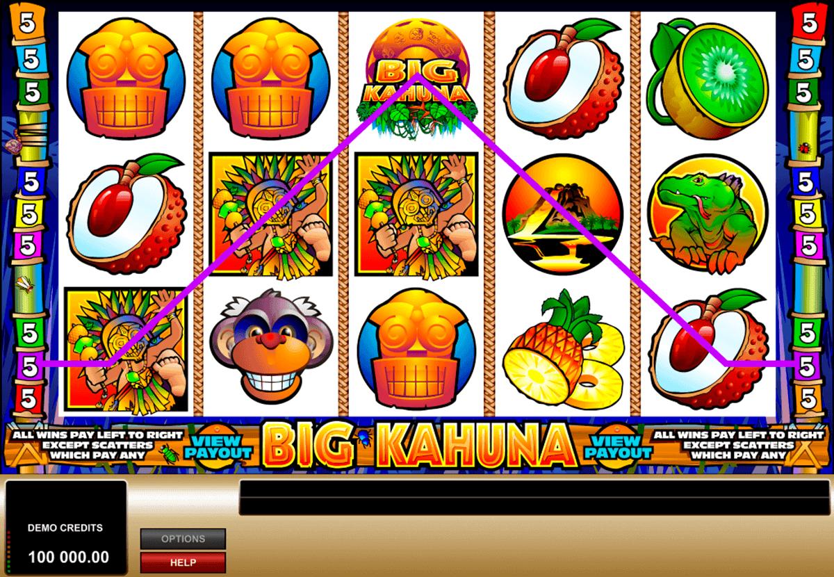 big kahuna microgaming spielautomaten