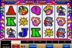 big top microgaming spielautomaten