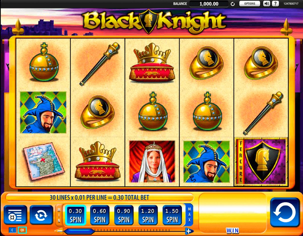 black knight wms spielautomaten