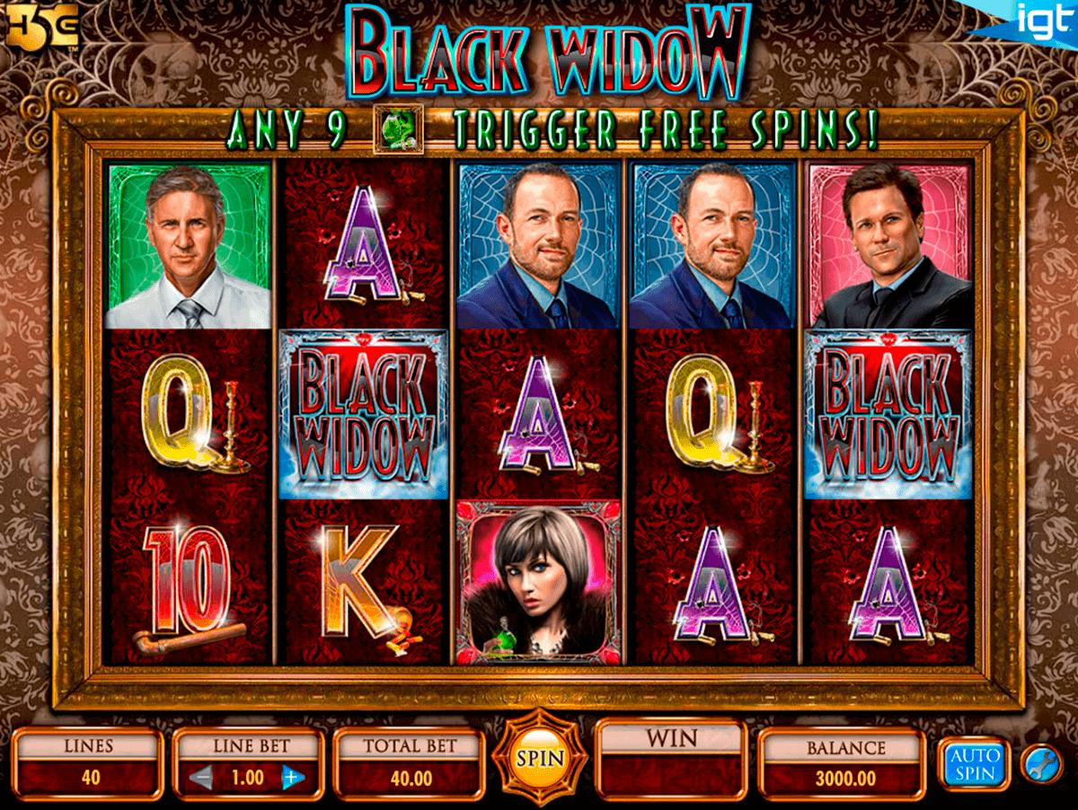 black widow igt spielautomaten