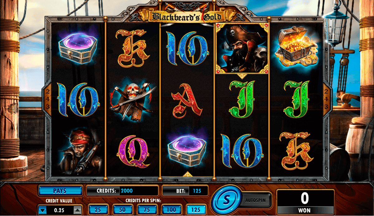 blackbeards gold amaya spielautomaten