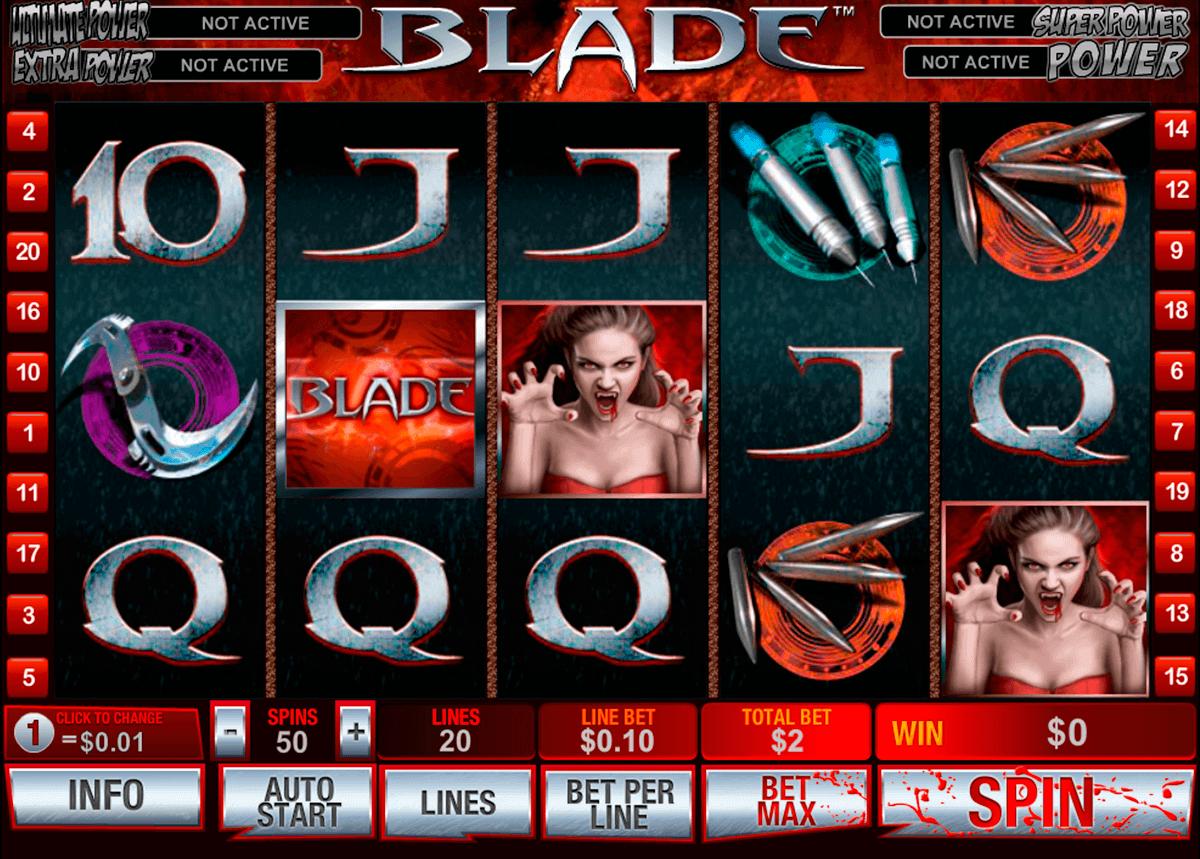 blade playtech spielautomaten