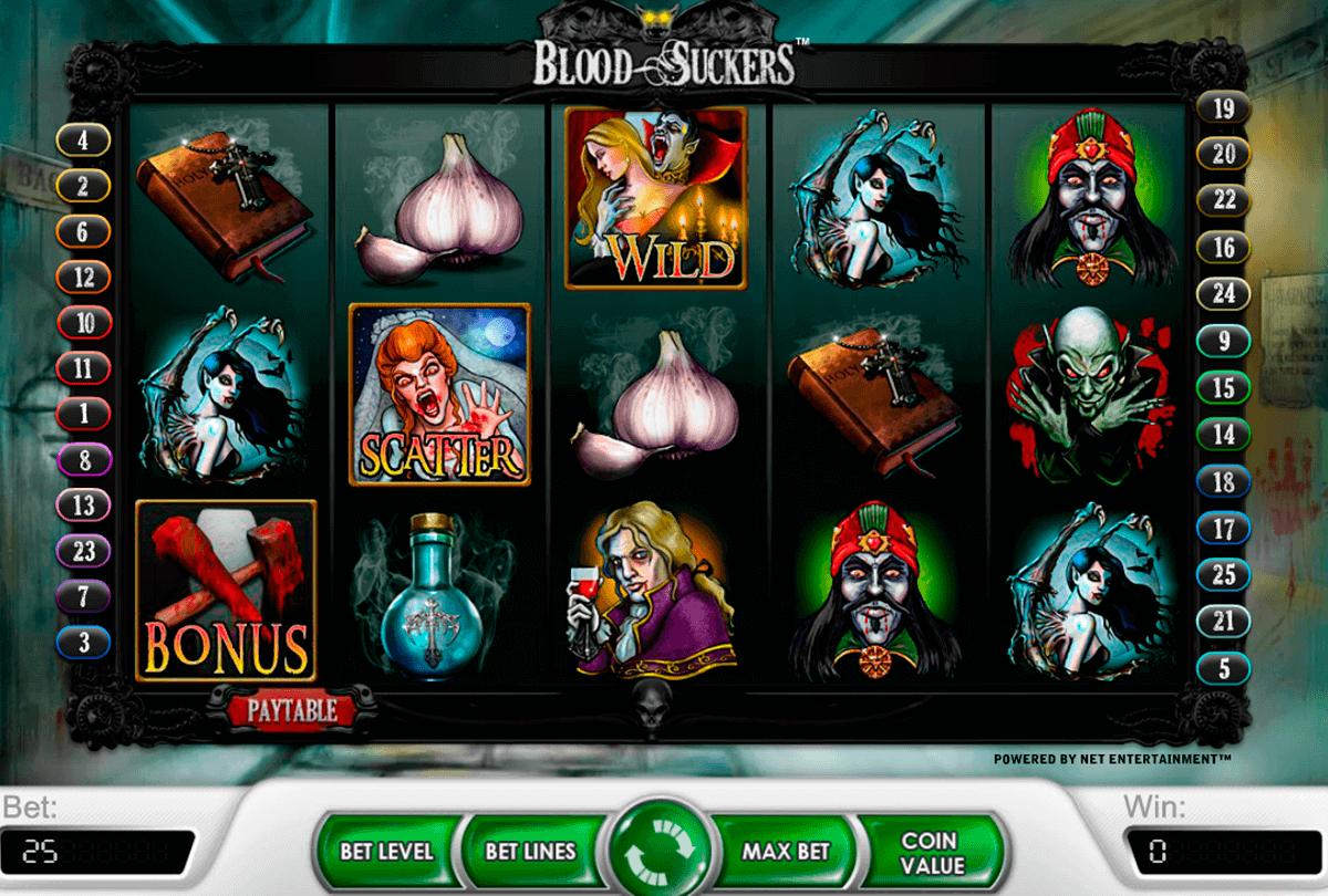 blood suckers netent spielautomaten
