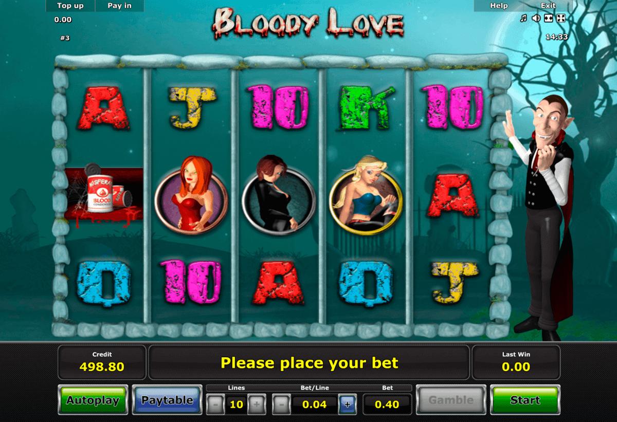 bloody love novomatic spielautomaten